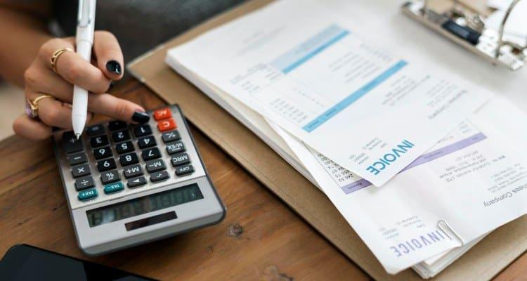 Primer - hramba računov